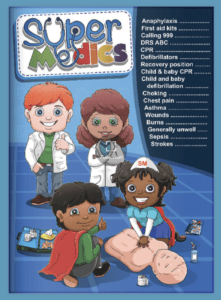 Super Medics – a brand new First Aid book for kids