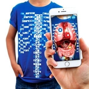 Virtuali-Tee Augmented Reality T-Shirt